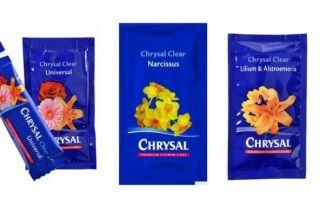 Универсальная подкормка для срезанных цветов Chrysal