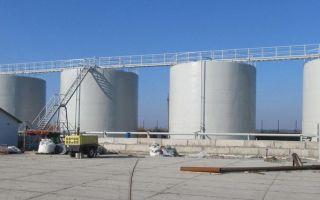 Емкости и резервуары для хранения жидких удобрений